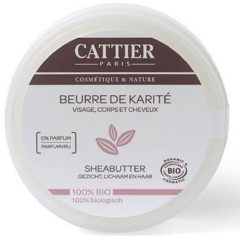 Cattier Sheabutter Bio 100gr