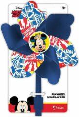 Blauwe Disney Mickey Mouse windmolen