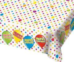 Folat Happy Birthday Tafelkleed 180x130cm