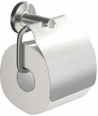 Roestvrijstalen Praya 304 Wiesbaden toiletrolhouder met klep RVS 24.3828