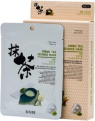 Mitomo Japan Mitomo™ groen Tea Gezichtsmasker - Anti Aging Face Mask - Gezichtsverzorging Masker