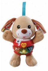 VTech Baby Knuffel & Speel Puppy Bruin - Interactief Knuffeltje