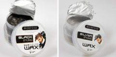 Zilveren Combo 2 Morfose Haircolorwax - Black & Silver