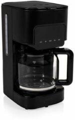 Zwarte Princess 246014 Deluxe Koffiezetapparaat Black Steel 1.5 L - Glazen kan