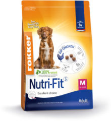 Fokker nutri-fit adult medium hondenvoer 13 kg