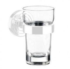 Transparante Emco Polo glas los voor glashouder Chroom
