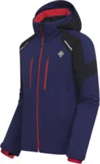 Blauwe Descente SLADE JACKET - NAVY - MANNEN maat: 52 heren > wintersport kleding > ski jasssen