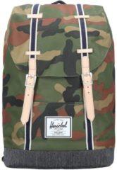 Retreat Rucksack 47 cm Herschel woodland camo dark denim