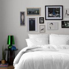 Witte Dekbedovertrekset katoen 140 x 200/220 (01) white uni Damai