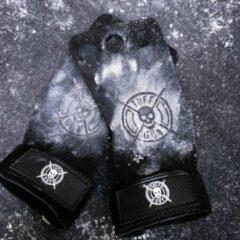 Zwarte Tuff Guy Sports Tuff Guy - Gymnastic Hand Grips – Black - Geschikt voor Functional Fitness, Olympisch Gewichtheffen en Crossfit-Medium