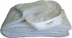 Witte Bamboo Comfort Bamboo Zomer dekbed - 1-persoons XL (140x220 cm)