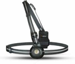 Zwarte GATO Sports Adjustable Chest Light USB - verstelbare borstlamp hardlopen