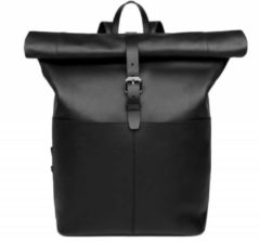 Zwarte Sandqvist Antonia Backpack Leather black