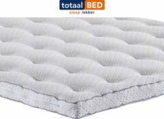 Witte TotaalBED topmatras Master koudschuim standaard - 90x200 cm
