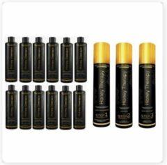 BraziliCious Honey Therapy & Brazilicious Honey Conditioner 12 x 250 ml Onderhoudsconditioner voor de keratine behandeling