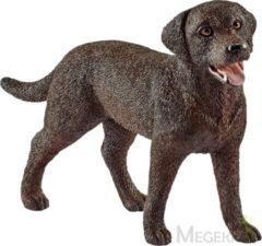 Bruine Schleich Labrador Retriever Teef 13834 - Hond Speelfiguur - Farm World - 7,4 x 2 x 5 cm