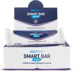 Body & Fit Smart Bars Crunchy - Eiwitreep - 1 doos (12 eiwitrepen) - Coffee & Dark Chocolade