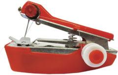 Rode Genius Ideas Mini hand naaimachine - ideaal voor op reis en kleine reparaties