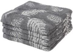 SEASTAR Premium Handtuch 4er Set, grau