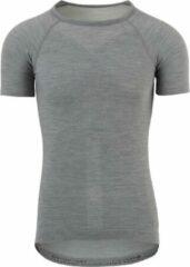 AGU Winterday Thermoshirt Korte Mouwen Essential Unisex Fietsshirt - Maat S - Grijs