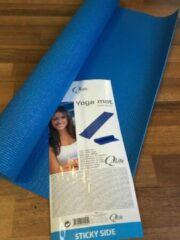 Q4life Qlife Yoga Mat Blauw