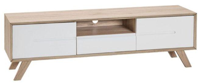 Afbeelding van Witte Beliani Forester Tv-meubel Mdf 40 X 150 Cm