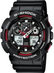 Zwarte G-shock horloge - GA-100-1A4ER