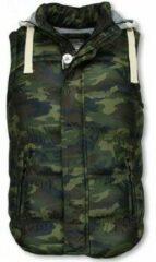 Vest Yole Bodywarmer Heren - Camouflage Vest Capuchon