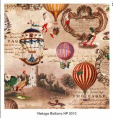 Home Fasion - Servetten - Vintage Balloons - 33 x 33cm