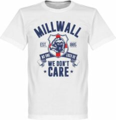 Merkloos / Sans marque Millwall We Don't Care T-Shirt - Wit - S