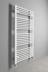 Aqualine Direct badkamer handdoek radiator 45x132cm wit 564Watt 4-punts aansluiting