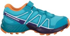 Trailrunning-Schuh Speedcross Bungee K 401608 mit funktionaler Ausstattung Salomon Blue Curacao/Acai/Bird of Paradise