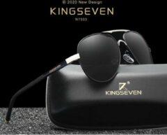 Kingseven grijs - Met UV400 en polarisatie filter