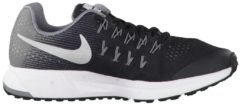 Laufschuhe Air Zoom Pegasus 33 (GS) mit Flywire-Fasern 834316-001 Nike Black/Metallic Silver-Cool Grey