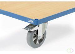Fetra Wielen van elastisch rubber, Ø 125 mm, Meerprijs op TPE wielen 125 mm