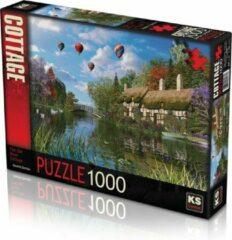 KS Games Old River Cottage Puzzel 1000 Stukjes