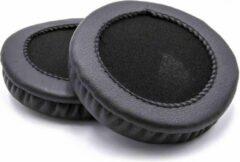 Dolphix Oorkussens universeel (75mm) compatibel met o.a. AKG, ASUS, Audio Technica, Cresyn, JBL, JVC, Panasonic en Sony hoofdtelefoons / zwart