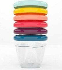 BabyMoov Babybowls 6oz Kom 0,177 l Multi kleuren, Transparant 6 stuk(s)
