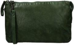 Groene Beardesign Bear Design Schoudertas CL 30996 olive green