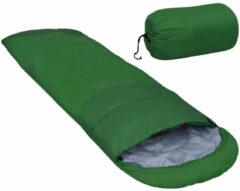 VidaXL Slaapzak lichtgewicht 15 850 g groen