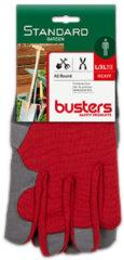 Rode Busters handschoenen Allround synthetisch rood M10