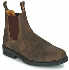 Bruine Laarzen Blundstone COMFORT DRESS BOOT