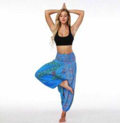New Age Devi Yoga pants loose women high waist Women Summer Loose Yoga Trousers Baggy Boho Jumpsuit Harem Pants gym Turquoise