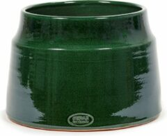 Serax Bloempot Groen-Donker groen D 25 cm H 20 cm