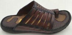 Lava Heren Slippers - Bruin - Maat 42