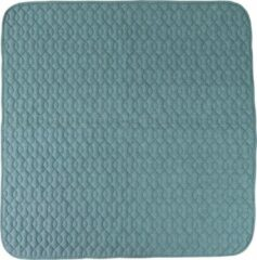 Blauwe Sebra - Speelkleed Quilted – Cloud Blue - 120 x 120 cm