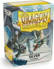 Dragonshield 100 Box Sleeves Classic Silver