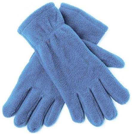 Afbeelding van Bellatio Lichtblauwe fleece handschoenen M/l