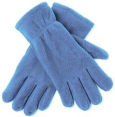Bellatio Lichtblauwe fleece handschoenen M/l