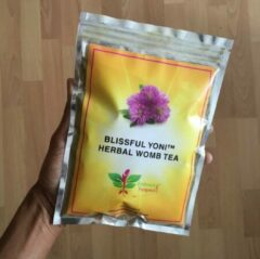 Embrace Pangaea Blissful Yoni Herbal Womb Tea – yoni thee voor baarmoeder